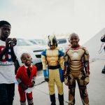Smiling Children in Costume