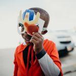 Smiling Child in Costume